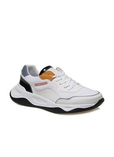 Lumberjack Pierre 1Fx Erkek Spor Ayakkabı Beyaz